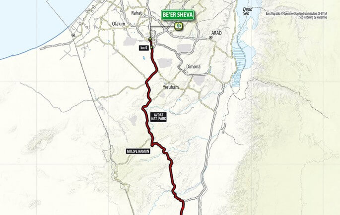 STAGE 3 - BE'ER SHEVA - EILAT