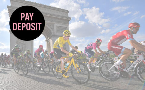 Tour de France bucket list trip - pay deposit