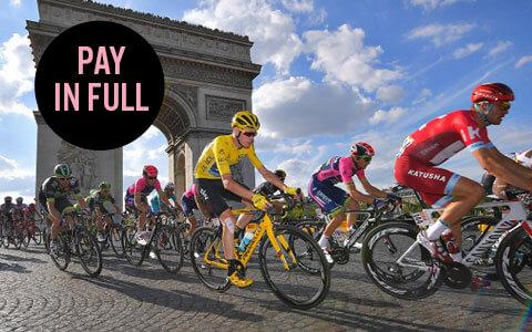 Tour de France bucket list trip - pay in full