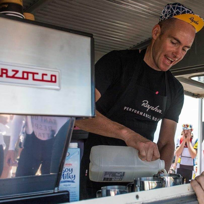 Pat Fitzpatrick barista