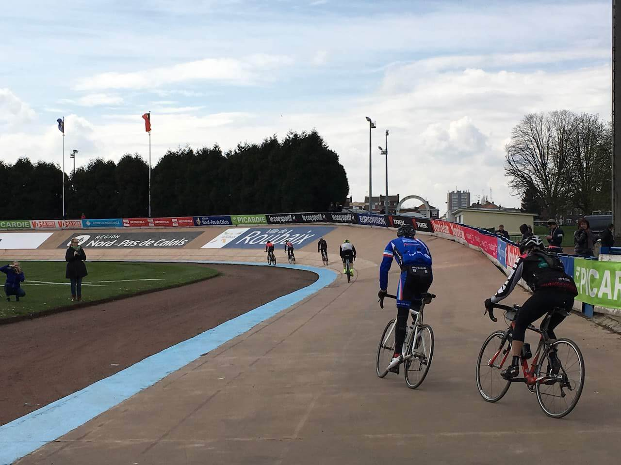 a shot of the Velodrome