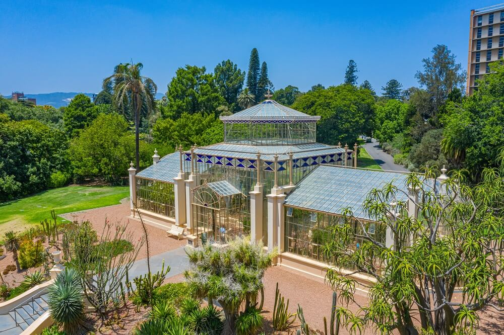 Palm House at Adelaide Botanic Garden