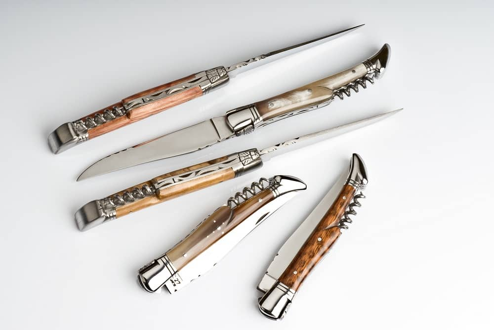 Knives from Laguiole, France