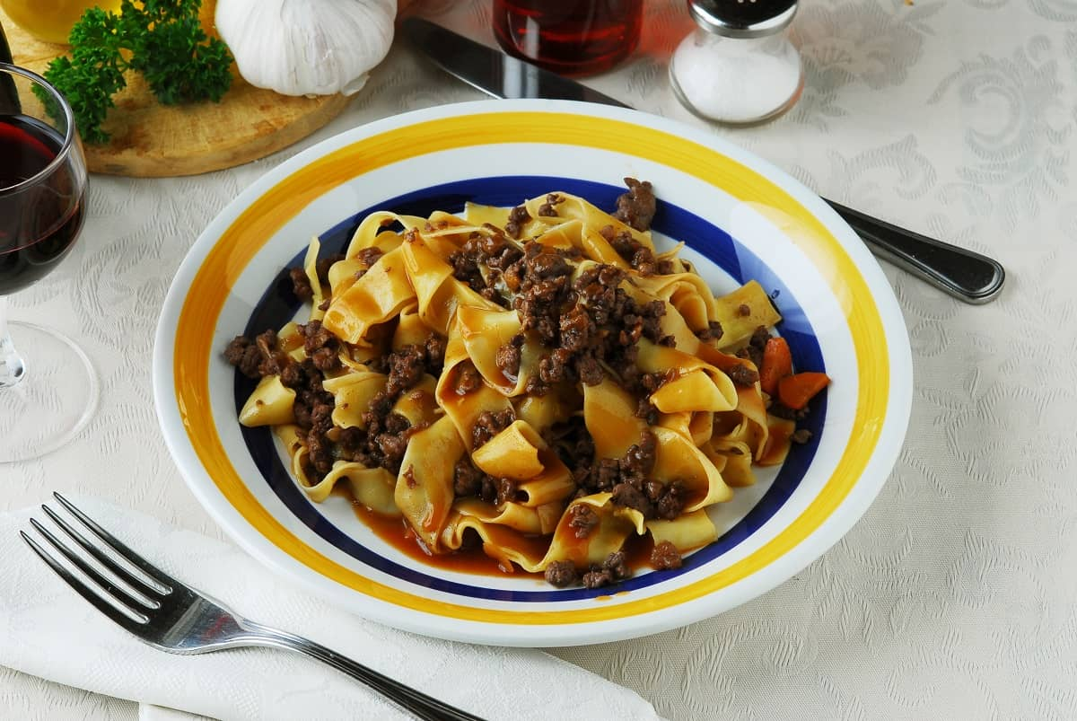 Pappardelle Al Cinghiale is One of Our Favourite Italian Dishes