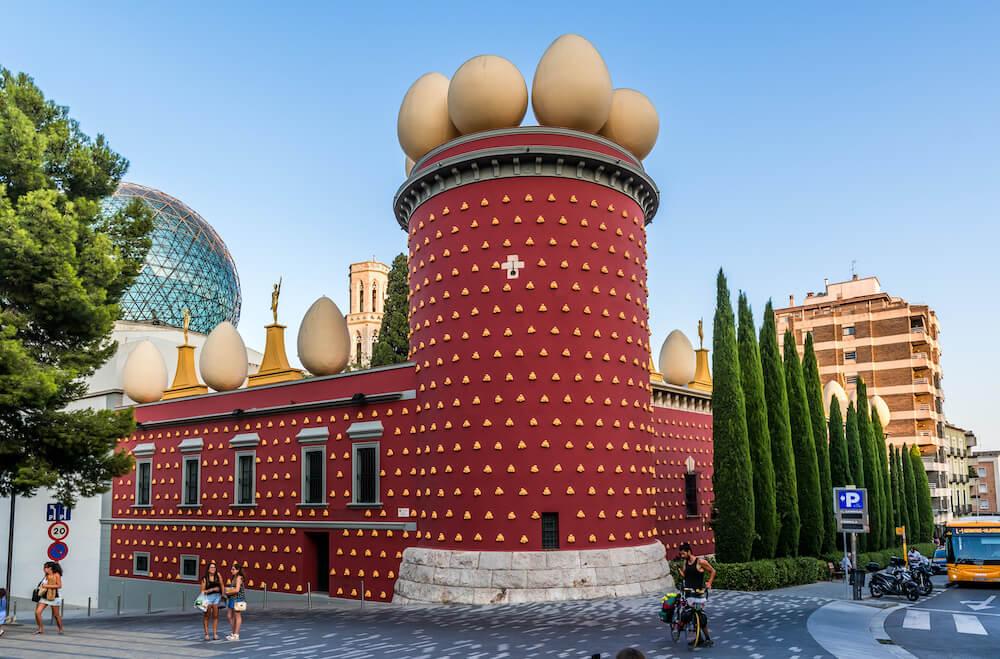 Dalí museum in Figueres, Spain