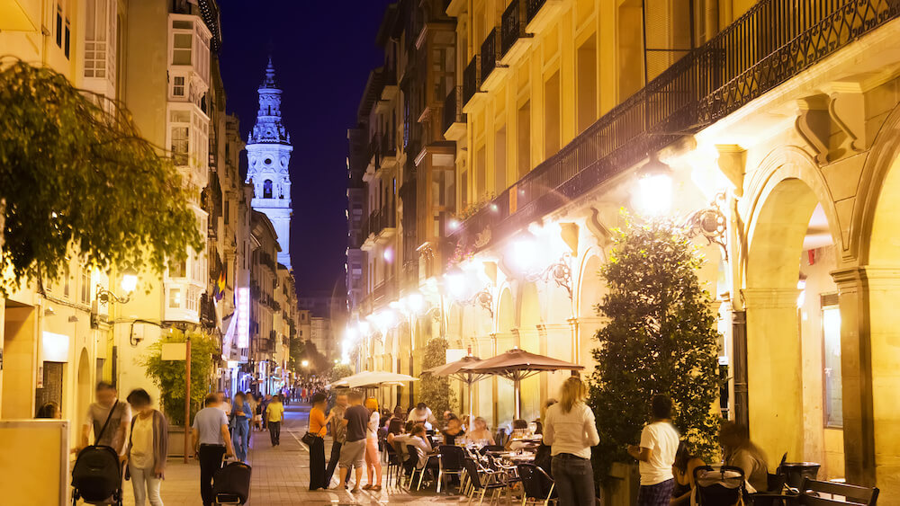 Logroño in Spain